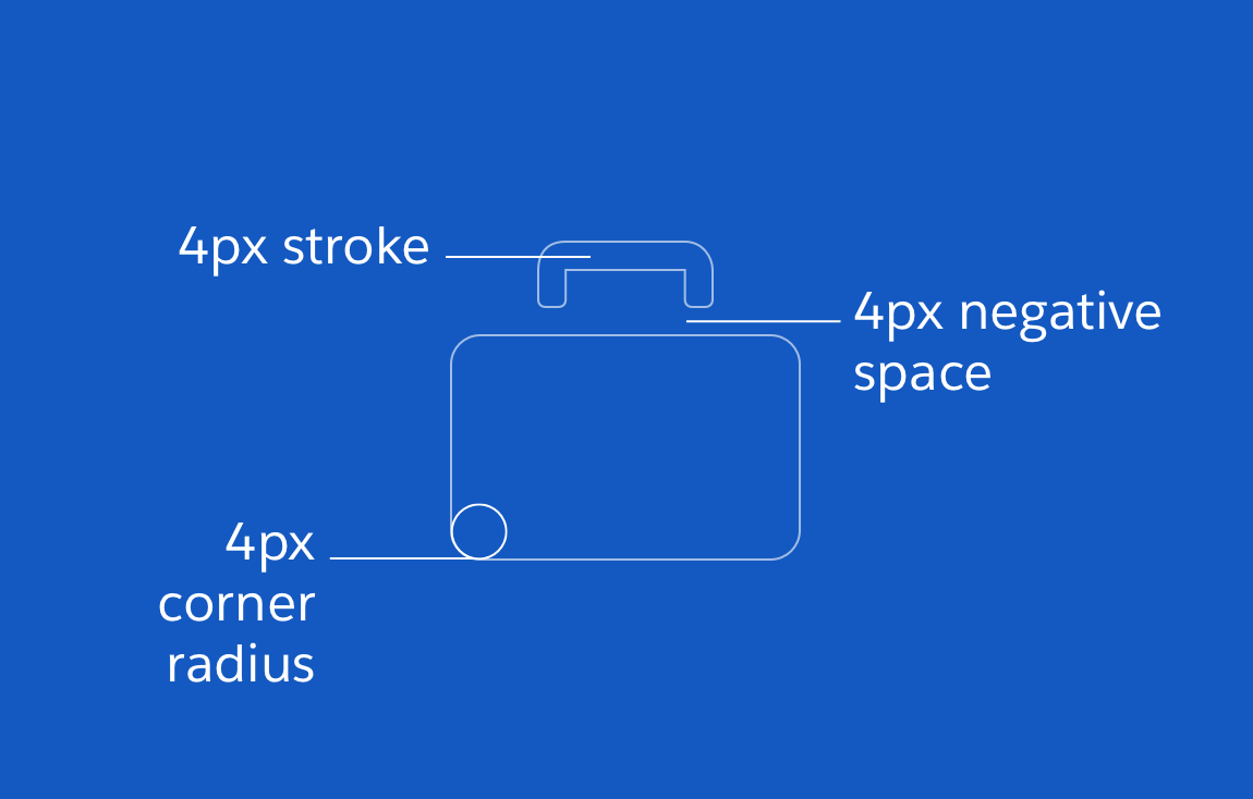 48px action icon with anatomy elements highlighted
